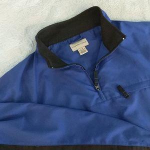 Cutter & Buck Royal Blue Golf Jacket L